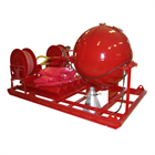 CDC200S Large Dry Chemical Hose Reel Units